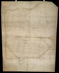 Plan of Portsmouth from 1545